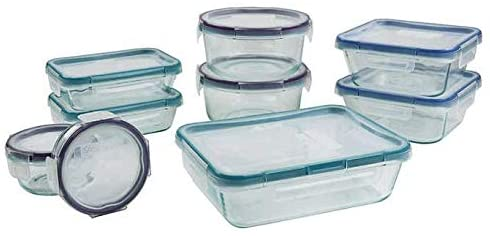 If you want a more natural looking color for your Snapware glass food storage containers, instead of green lids, these have only a subtle hint of color.