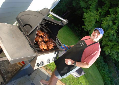 my husband does most of the grilling in our family