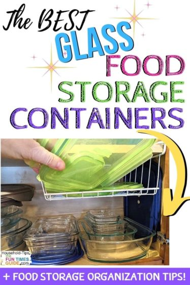 The best GLASS food storage containers for your kitchen!