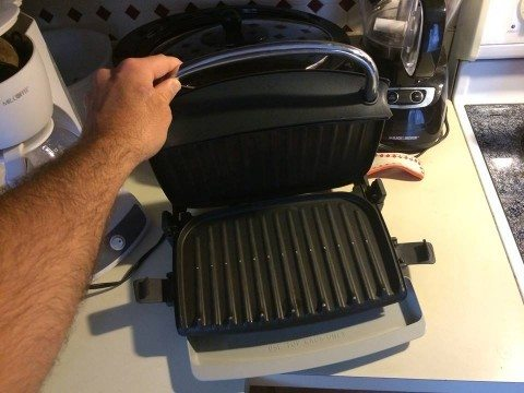 Clean George Foreman Grill