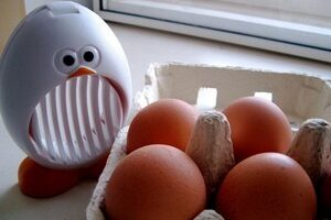 The Best Kitchen Gadget?… The Egg Slicer, Of Course!