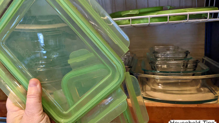 The Snapware Glasslock food storage containers have very sturdy lids. I'm going on 13 years with my same set, and not one has cracked or broken!