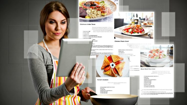 Using Google Docs (a part of Google Drive that's FREE), you can access all of your favorite recipes from any phone, tablet, or computer -- wherever you are!