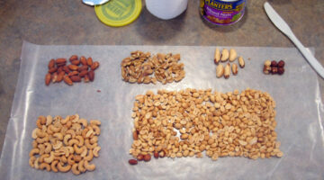 See Exactly What's Inside A Can Of Mixed Nuts: A Count Of Each Type Of Nut