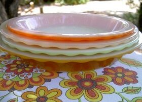 My Favorite Food Serving & Storage Plates, Bowls And Lids