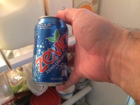 zevia soda - one of the best drinks with sweetened stevia