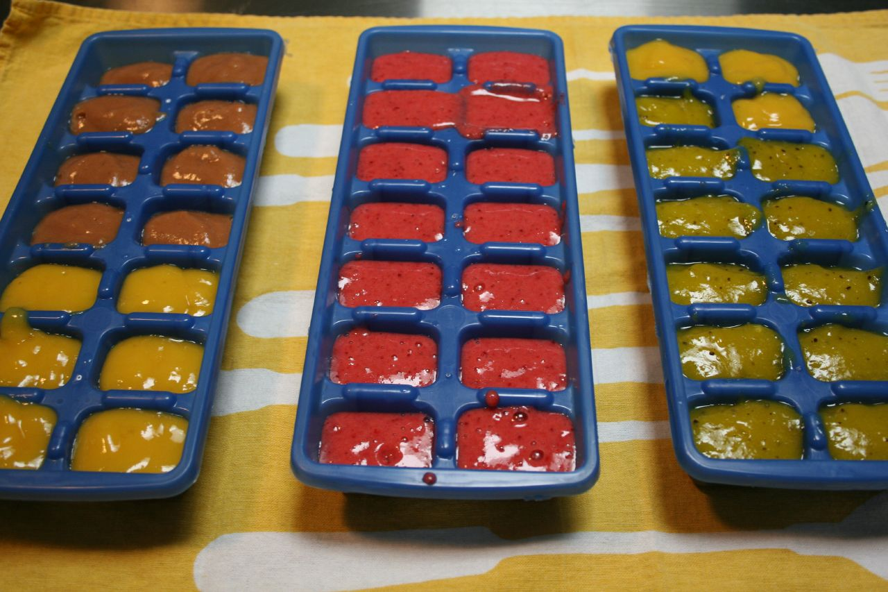 how to make your own baby food and freeze it