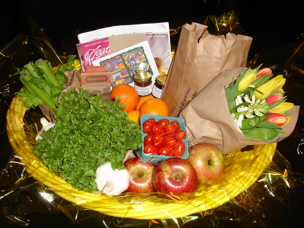 Food Gift Baskets That Are Easy To Make The Holiday And