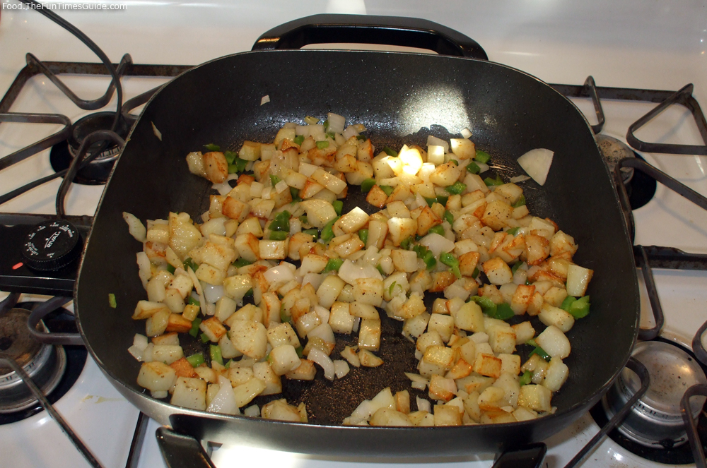 Breakfast potatoes - hash browns - fried potatoes. photo by Curtis at ...
