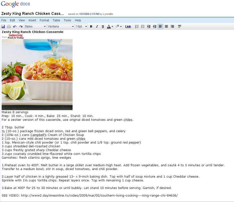 the perfect recipe organizer google docs it s free the food