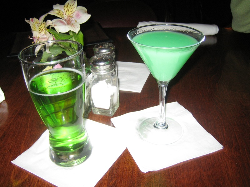 Patrick s day green beer green cocktails non alcoholic drinks