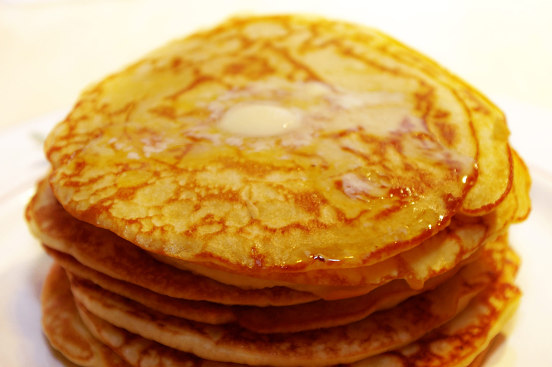 Buttermilk pancakes from scratch are easy to make the food and homemade pancakes by loleiag ccuart Images