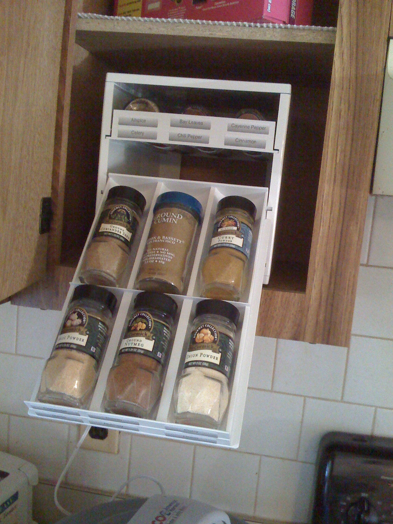 #7 U2013 How About A Special Pull Out Cabinet Just For Spices?