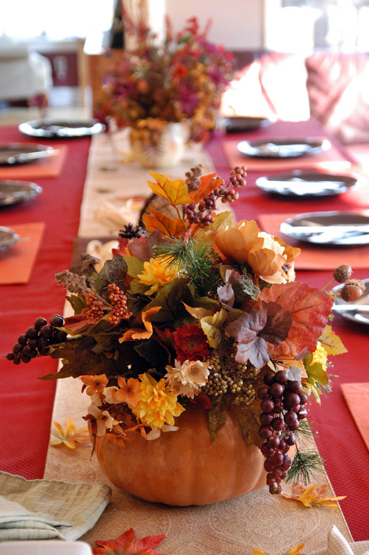 The best diy thanksgiving table decorations fun times