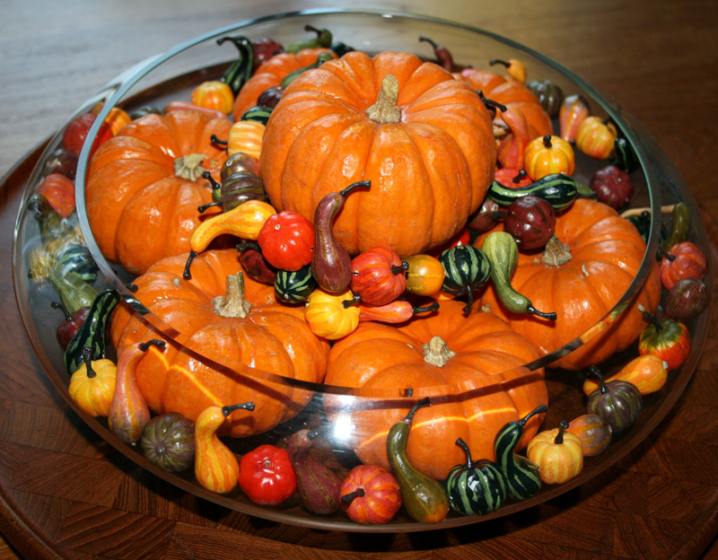 Thanksgiving Pumpkin Centerpiece Craft