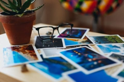 Photo printing and photo organizing make great summer bucket list activities for adults.